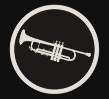 Trumpet black&white One Piece - Short Sleeve