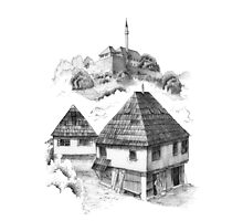 Cazin, Bosnia and Herzegovina Photographic Print