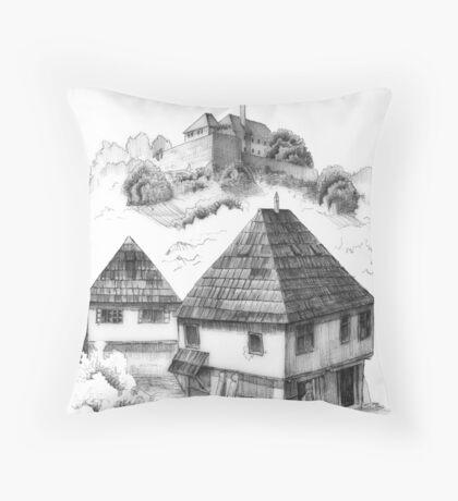 Cazin, Bosnia and Herzegovina Throw Pillow