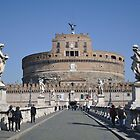 Angels over Castel Sant'Angelo by j0sh