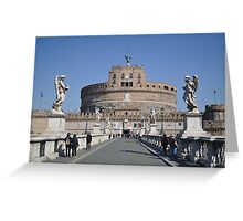 Angels over Castel Sant'Angelo Greeting Card