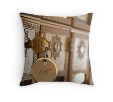 Mail at the Ritz Throw Pillow