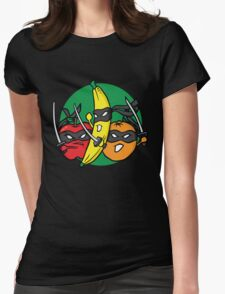 Fruits Fight Back Womens Fitted T-Shirt