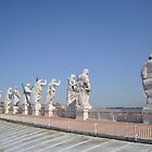 Statues of St. Peter's Basilica by j0sh
