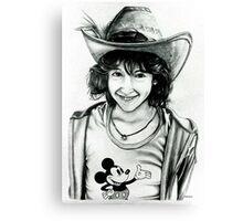 Kelly at Disneyland Canvas Print