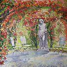 Germany Baden-Baden Rosengarten  by Yuriy Shevchuk