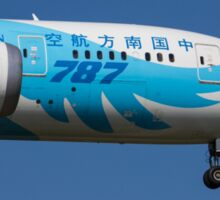 China Southern Airlines Boeing 787 Sticker