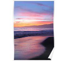 beach evenings Poster
