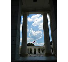 To The Brave Fallen - Arlington, VA Photographic Print