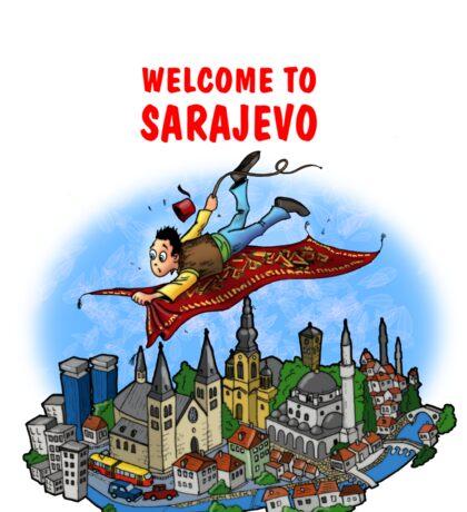 Welcome to Sarajevo Sticker