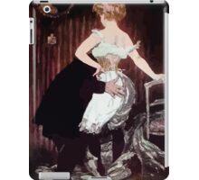 Jules Alexandre Grün Lady Underwear iPad Case/Skin