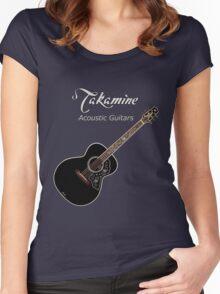 Takamine Acoustic Guitars  Women's Fitted Scoop T-Shirt