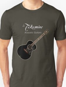 Takamine Acoustic Guitars  Unisex T-Shirt