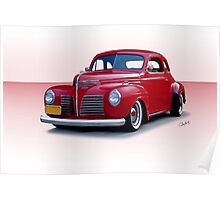 1940 Plymouth Coupe I Poster