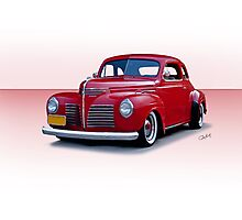 1940 Plymouth Coupe I Photographic Print