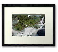 Iguazu Falls Rainbow Framed Print