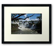 Iguassu Falls Brazil Framed Print