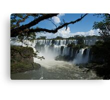 Iguassu Falls Brazil Canvas Print