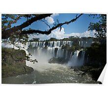Iguassu Falls Brazil Poster