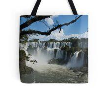 Iguassu Falls Brazil Tote Bag
