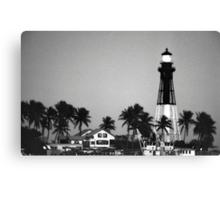 Hillsboro Lighthouse Canvas Print