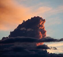 Sunset Cloud by Carol Bock