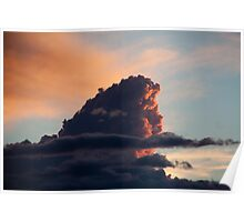 Sunset Cloud Poster