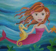Underwater Mermaid by Kristy Spring-Brown