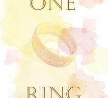 ONE RING TO RULE THEM ALL by valinoir