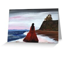 Whitby Witch (Crimson) Greeting Card
