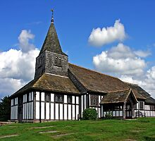 Church of St. James and St. Paul. Marton Cheshire UK. by ten2eight