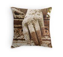 A Cold Hand Throw Pillow