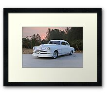 1949 Pontiac 'Custom' Chieftain Framed Print