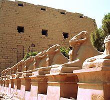 Karnak Temple by Robbie Labanowski