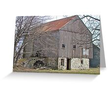 Old Pennsylvania Bank Barn Greeting Card