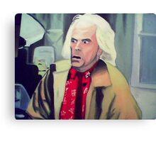 Doc Brown Canvas Print