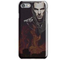 Benedict Cumberbatch - Flames iPhone Case/Skin