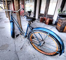 Antique Bike - Weatherford, Texas by jphall