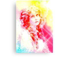 CLASSIC VINTAGE BEAUTY Canvas Print