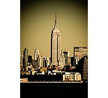 EMPIRE STATE Photographic Print