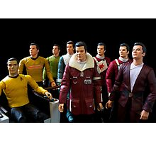 Captains Kirk Photographic Print