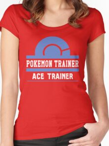 Pokemon Trainer - ACE Women's Fitted Scoop T-Shirt