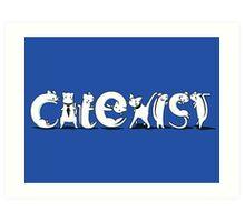Cat-Exist | Coexist Art Print