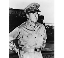 General MacArthur Photographic Print