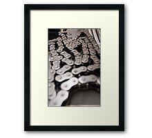 Chain - Color Framed Print