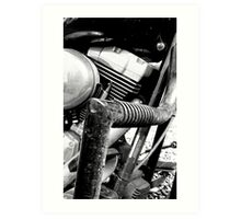Engine Guard Art Print