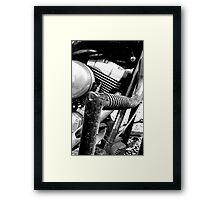 Engine Guard Framed Print