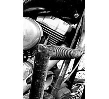 Engine Guard Photographic Print