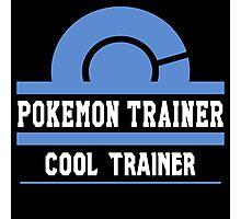 Pokemon Trainer - Cool Trainer Photographic Print