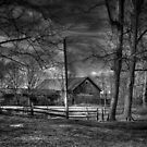 Dusk In Black and White by Michael  Petrizzo